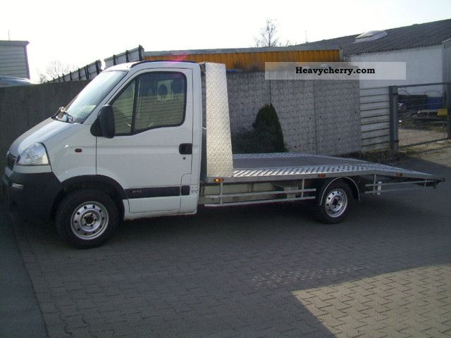 2004 Opel  Movano Van or truck up to 7.5t Breakdown truck photo