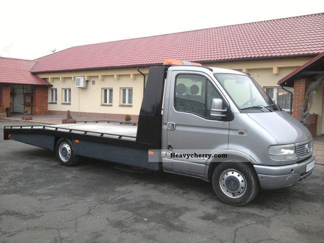 opel movano 2 5 dti auto transporter pomoc drogowa. Black Bedroom Furniture Sets. Home Design Ideas
