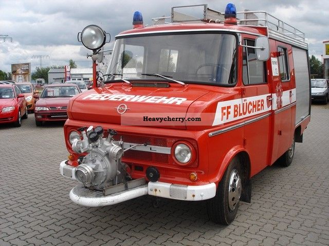 1973 Opel  Flash Fire Van or truck up to 7.5t Other vans/trucks up to 7 photo