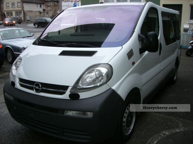 opel vivaro 1 9 cdti l1 h1 climate 2005 estate minibus up to 9 seats truck photo and specs. Black Bedroom Furniture Sets. Home Design Ideas