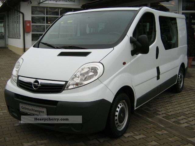 opel vivaro 2 5 cdti combined 2 7 t 2007 other vans trucks. Black Bedroom Furniture Sets. Home Design Ideas