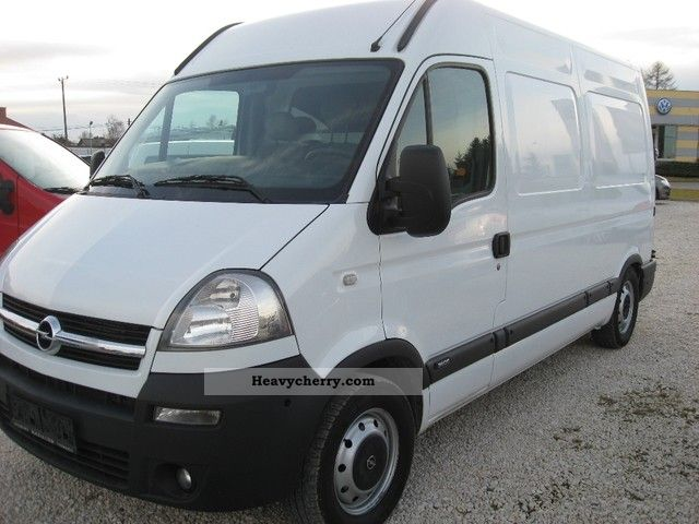 2008 Opel  Movano Van or truck up to 7.5t Box-type delivery van - high and long photo