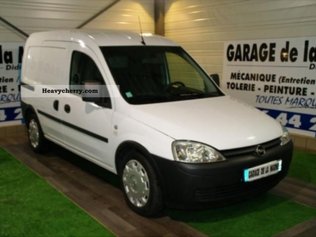 opel combo pack clim cargo 1 3cdti 2007 box truck photo and specs. Black Bedroom Furniture Sets. Home Design Ideas