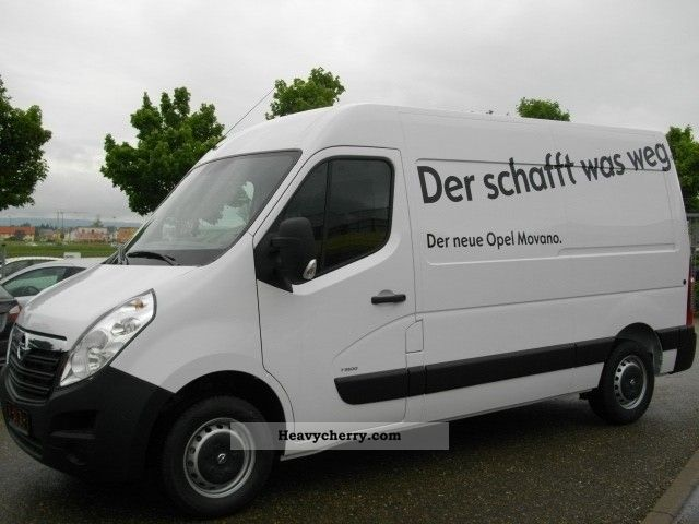 opel movano 2 3 cdti 125 3 5 tons air l3h pdc 2010 box. Black Bedroom Furniture Sets. Home Design Ideas