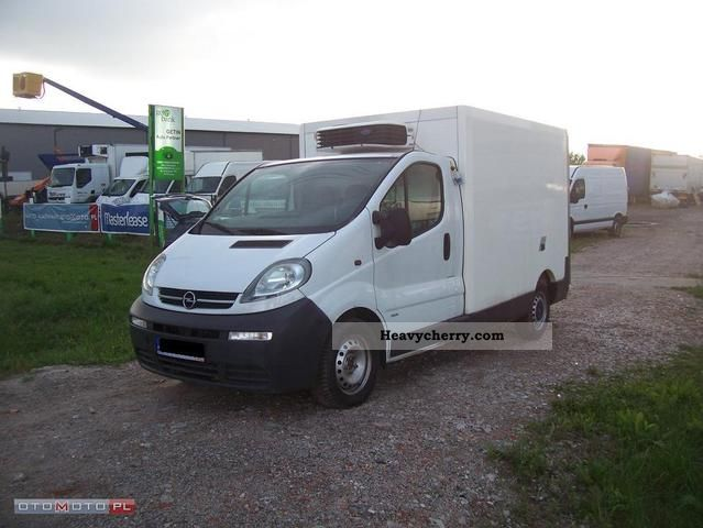 2006 Opel  2900 Vivaro 1.9 DTi CHLODNIA 2006r. Van or truck up to 7.5t Other vans/trucks up to 7 photo