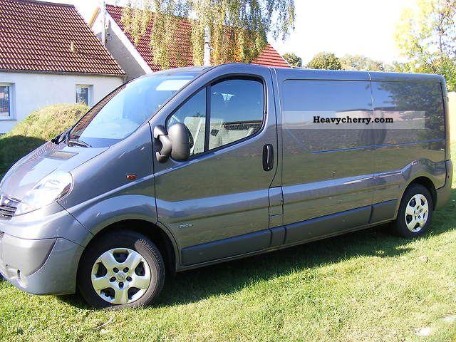 2010 Opel  VIVARO Van or truck up to 7.5t Box-type delivery van - long photo