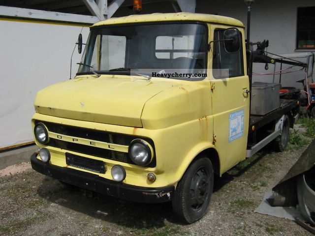 1969 Opel  Lightning rarity tow Van or truck up to 7.5t Breakdown truck photo