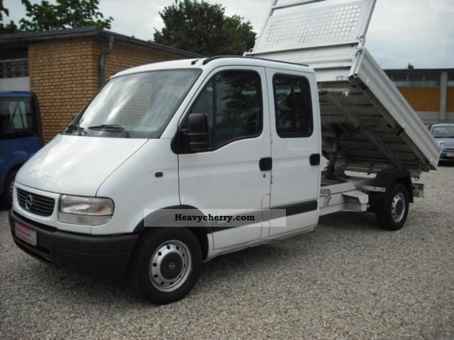 2004 Opel  Movano Tipper Van or truck up to 7.5t Tipper photo