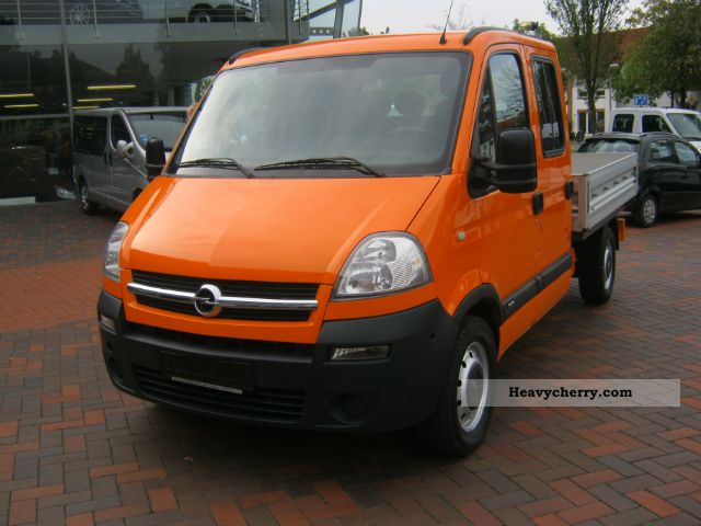 opel movano doka 2006 stake body truck photo and specs. Black Bedroom Furniture Sets. Home Design Ideas