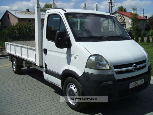 2006 Opel  Movano Van or truck up to 7.5t Stake body photo