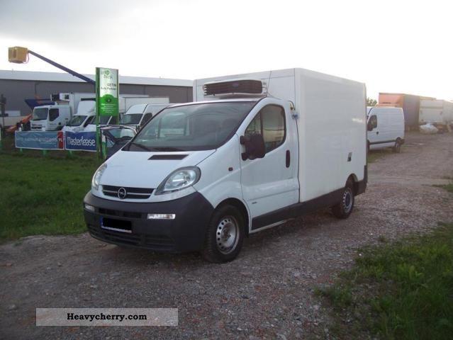 2006 Opel  2900 Vivaro 1.9 DTi Chłodnia 2006r. 2900 1.9 DT Van or truck up to 7.5t Other vans/trucks up to 7 photo