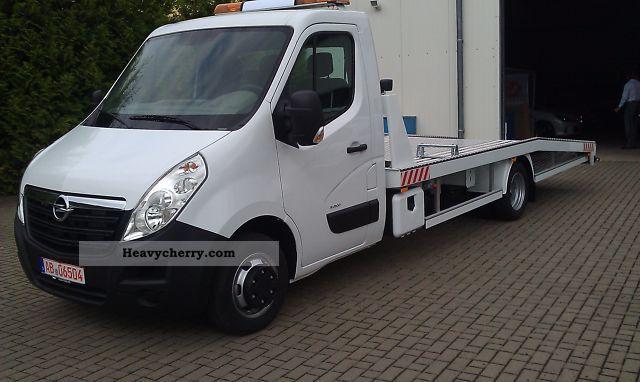 2011 Opel  Movano Van or truck up to 7.5t Breakdown truck photo