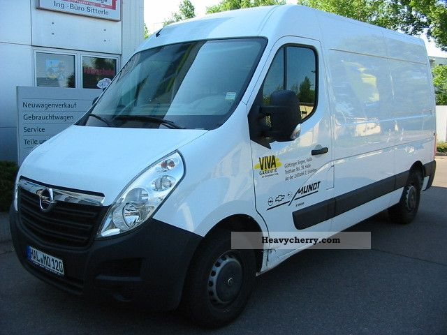 2010 Opel  B Movano 2.3 CDTI 125 (3.3 tons) L2H2 Van or truck up to 7.5t Other vans/trucks up to 7 photo