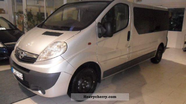 2010 Opel  9-SEATER COMBI Vivaro 2.0 CDTI Van or truck up to 7.5t Other vans/trucks up to 7 photo