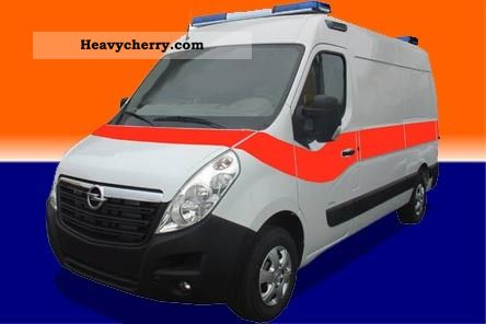 2010 Opel  Movano CDTI Van or truck up to 7.5t Ambulance photo