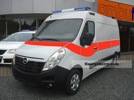opel movano cdti 2010 ambulance truck photo and specs. Black Bedroom Furniture Sets. Home Design Ideas