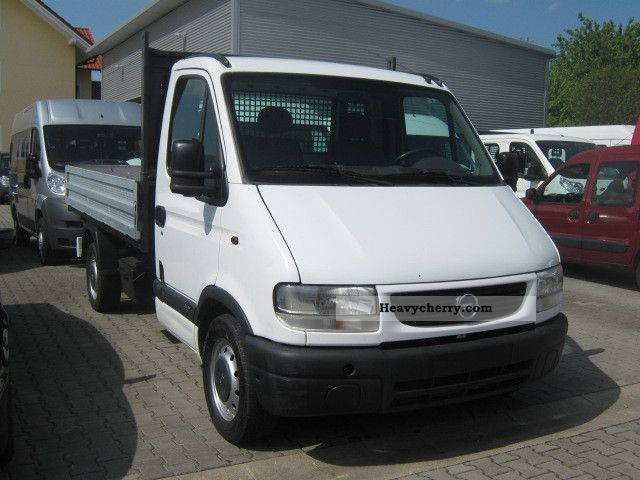 2001 Opel  Movano 2.8 DTI Trucks (TÜV / AU 08/12!) Van or truck up to 7.5t Tipper photo
