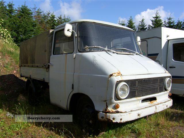 1962 Opel  Blitz 1,9 t + platform with tarpaulin tarpaulin Van or truck up to 7.5t Stake body and tarpaulin photo