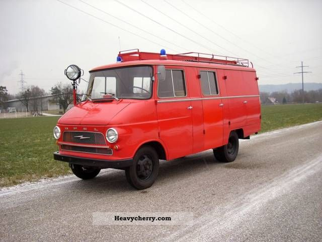 1966 Opel  Flash Fire Van or truck up to 7.5t Ambulance photo