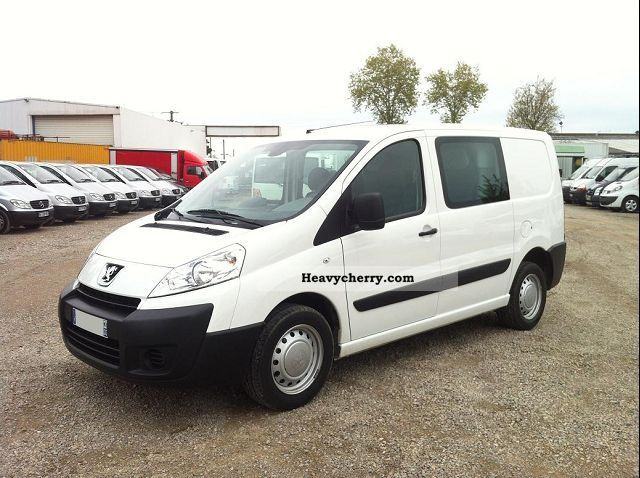 2011 Peugeot  EXPERT FG 227 L1H1 HDI120 PK CD CLIM Van or truck up to 7.5t Box-type delivery van photo