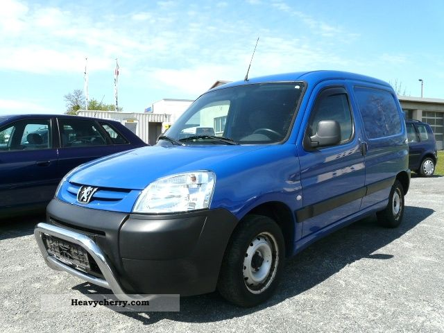 2005 Peugeot  Partner 1.9 HDI truck Zul TUV, sliding Van or truck up to 7.5t Box-type delivery van photo