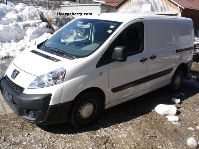 peugeot expert 1 6 hdi climate 2007 box type delivery van photo and specs. Black Bedroom Furniture Sets. Home Design Ideas