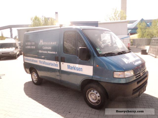 1998 Peugeot  BOXER Van or truck up to 7.5t Box-type delivery van photo