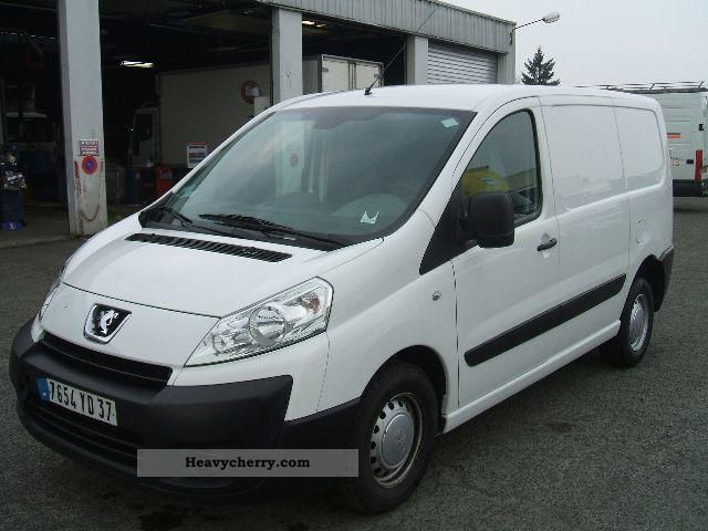 peugeot expert jumpy scudo 1 6 hdi climate euro 4 2009 box type delivery van photo and specs. Black Bedroom Furniture Sets. Home Design Ideas