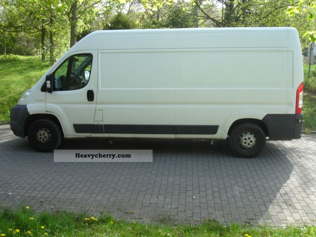 2007 Peugeot  MAXI Boxer L3H2 3.5 to ZulGG Van or truck up to 7.5t Box-type delivery van - high and long photo