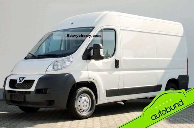 2011 Peugeot  Boxer L2H2 2.2 HDI 333 C III box Van or truck up to 7.5t Box-type delivery van - high and long photo