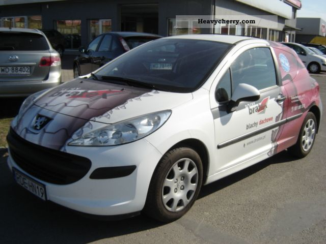 2007 Peugeot  207 1.4 HDI CLIMATE Van or truck up to 7.5t Other vans/trucks up to 7 photo