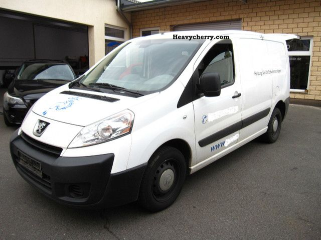 2008 Peugeot  EXPERT 2.0 HDI L1 H1 * 1.0 * t * SORTIMO SHELF Van or truck up to 7.5t Box-type delivery van photo
