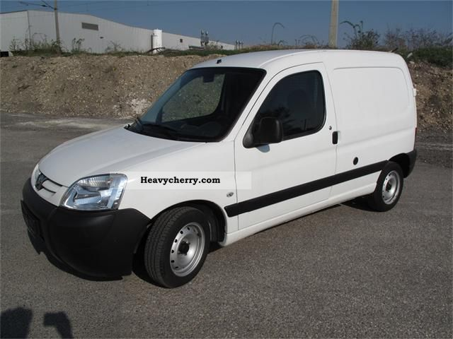 2008 Peugeot  1.4 Natural Gas \u0026 Gasoline partner very well maintained Van or truck up to 7.5t Box-type delivery van photo