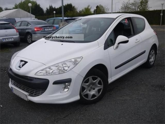 2009 Peugeot  308 Sté AFFAIRE 1.6L HDI 90 PACK CD CLIM Van or truck up to 7.5t Box photo