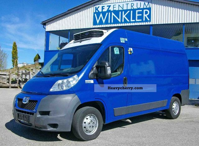 2008 Peugeot  Boxer 3.0 HDI vehicles and stationary cooling Van or truck up to 7.5t Refrigerator box photo