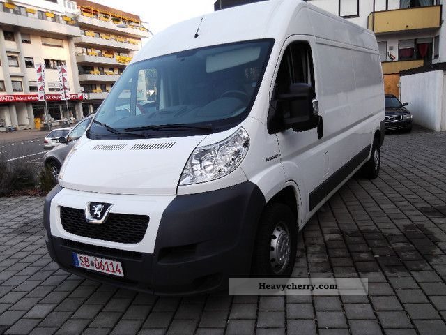 2008 Peugeot  Boxer 3.0 HDI L3 H2 AIR - E-PACKET Van or truck up to 7.5t Box-type delivery van - high and long photo