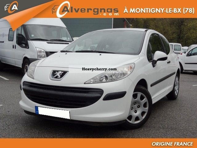 peugeot 207 1 4 hdi 70 pack cd clim affaire 3p 2007 box. Black Bedroom Furniture Sets. Home Design Ideas