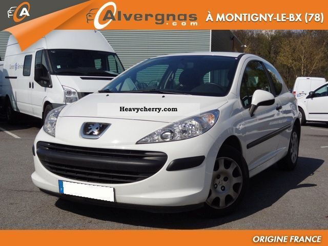 2006 Peugeot  207 1.4 HDI 70 PACK CD CLIM AFFAIRE 3P Van or truck up to 7.5t Box-type delivery van photo
