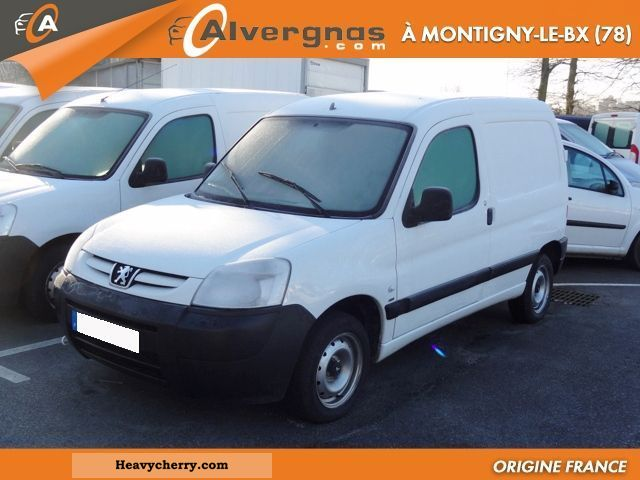peugeot partner 1 6 hdi 75 pack cd clim 170 c 2007 box type delivery van photo and specs. Black Bedroom Furniture Sets. Home Design Ideas
