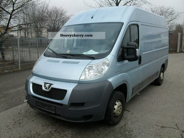2007 Peugeot  BOXER! ENGINE SMOKES! Van or truck up to 7.5t Box-type delivery van - high photo