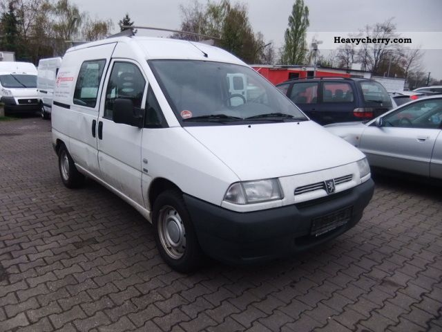 peugeot expert 2 0 hdi orig tkm 122 2001 box type delivery van photo and specs. Black Bedroom Furniture Sets. Home Design Ideas