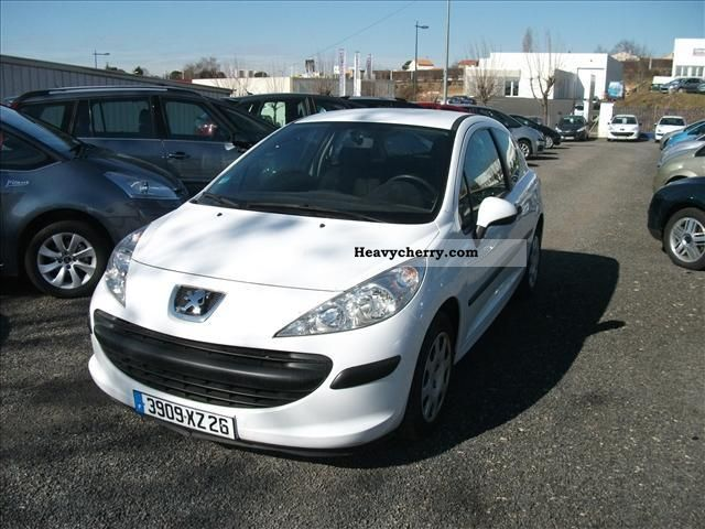 2008 Peugeot  207 Cd Util Pack Clim 1.4L HDI 70CH Van or truck up to 7.5t Box-type delivery van photo