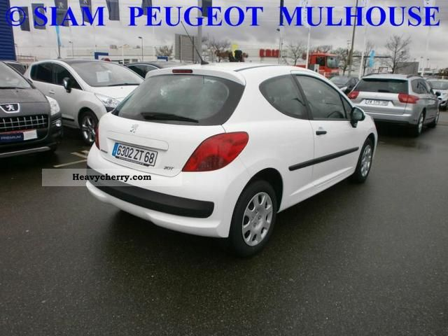 peugeot st 207 1 4 hdi cd clim cft 3p 2009 box type. Black Bedroom Furniture Sets. Home Design Ideas