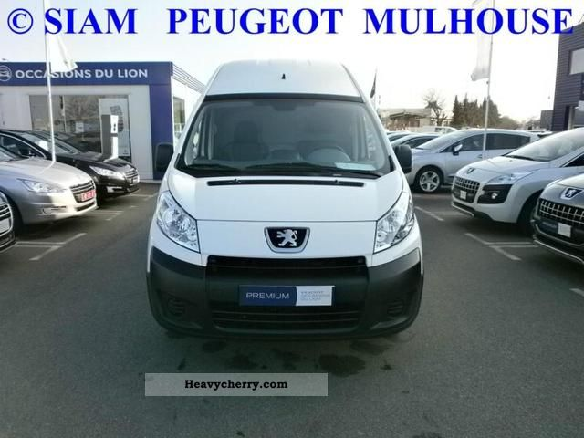 2011 Peugeot  Expert L2H2 229 Fg HDi120 Pk CD Clim Van or truck up to 7.5t Box-type delivery van photo