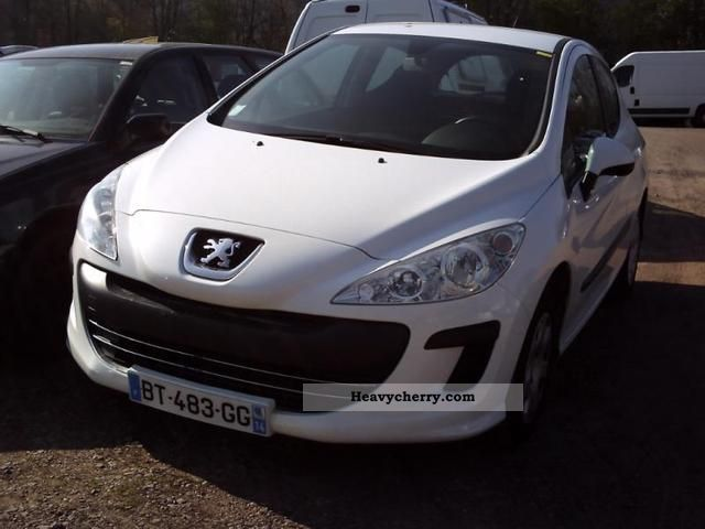 2008 Peugeot  308 Pack CD Sté HDi90 Clim 3p Van or truck up to 7.5t Box-type delivery van photo