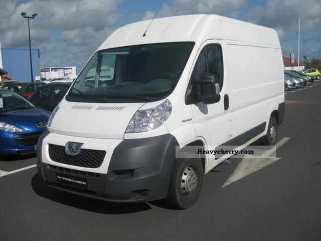 2008 Peugeot  Boxer 330 L2H2 Fg HDi100 Cft Van or truck up to 7.5t Box-type delivery van photo