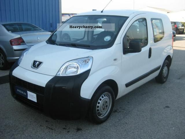 2008 Peugeot  Bipper HDi70 CD Pack Clim Van or truck up to 7.5t Box-type delivery van photo