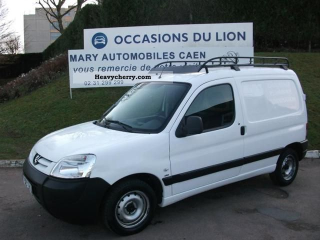2007 Peugeot  Partners Fgtte standard Van or truck up to 7.5t Box-type delivery van photo
