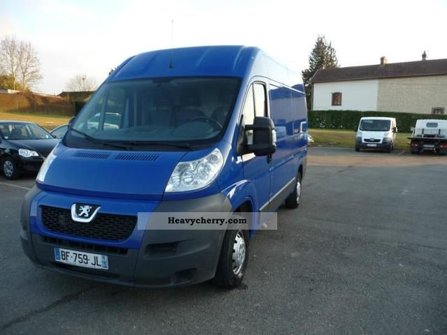 peugeot boxer 333 l2h2 fg hdi120 cd clim 2008 box type delivery van photo and specs. Black Bedroom Furniture Sets. Home Design Ideas
