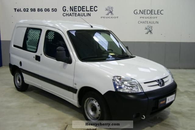 2008 Peugeot  Partners Fgtte HDi75 170C CD ORIGIN Van or truck up to 7.5t Box-type delivery van photo